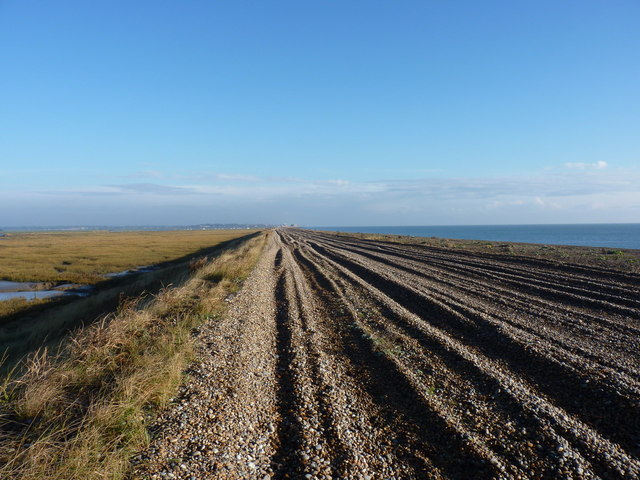 4x4 track on Sudbourne Beach