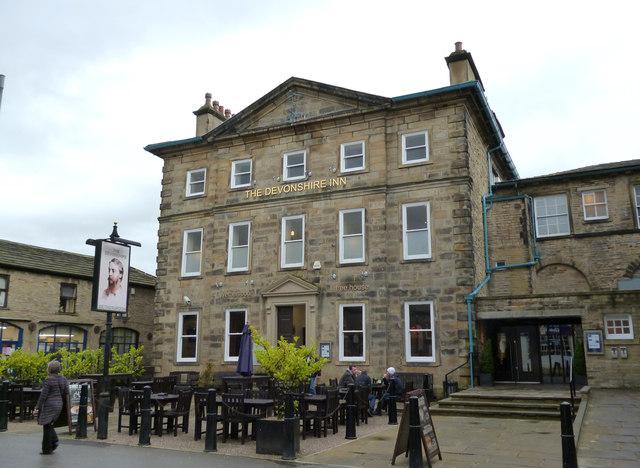 Skipton:The 'Devonshire Inn', Newmarket Street