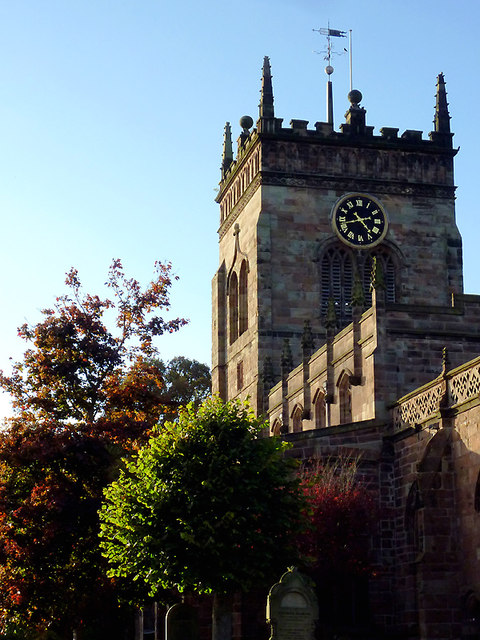 Church of St Mary in Acton, Cheshire