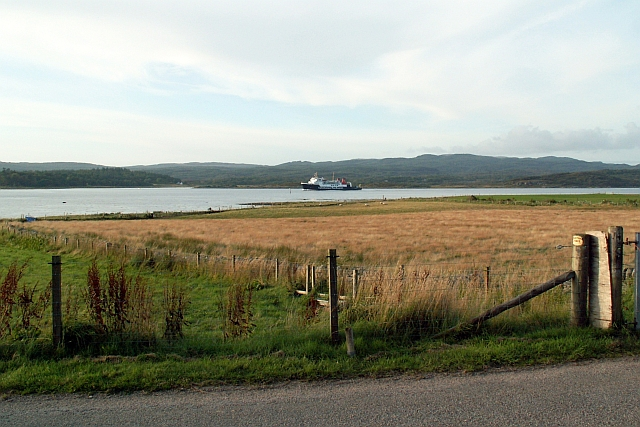 Fields down to Corran Point