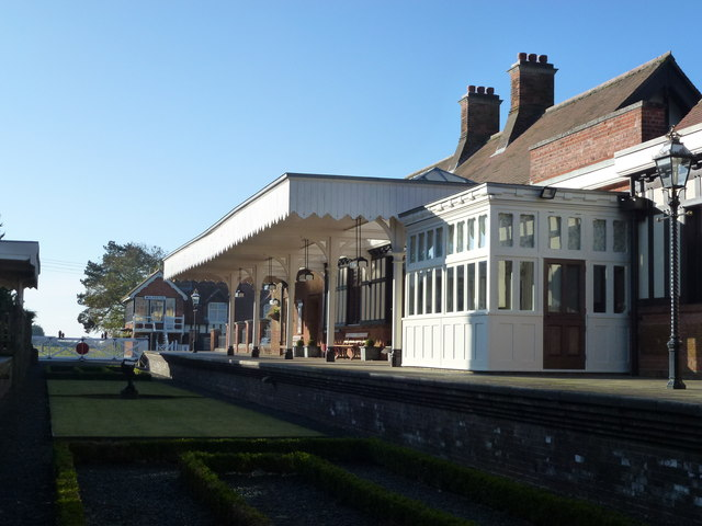 The Royal Station, Wolferton - A view from the track bed