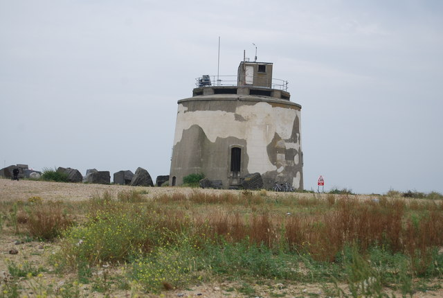 Martello Tower near Langney Point