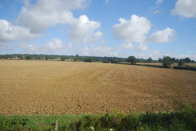 Farmland near March Wood