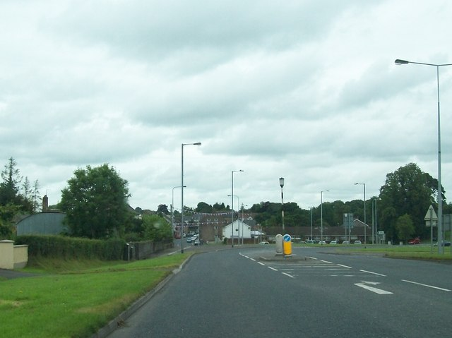 Entering Maguiresbridge along the Lisnagole Road