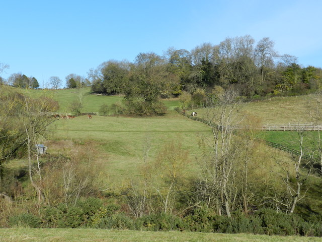 Little valley, west of Hornton