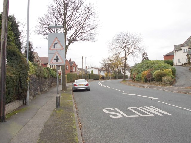 Hightown Road - viewed from Filey Royd