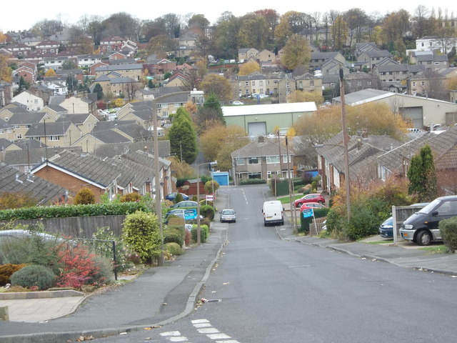 Quaker Lane - viewed from Ashbourne View