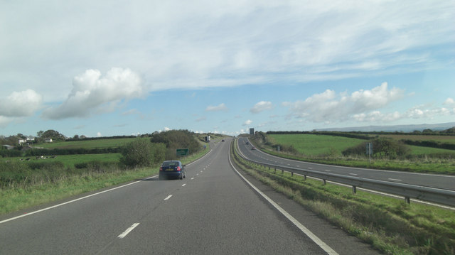 A30 south of Tregadillett