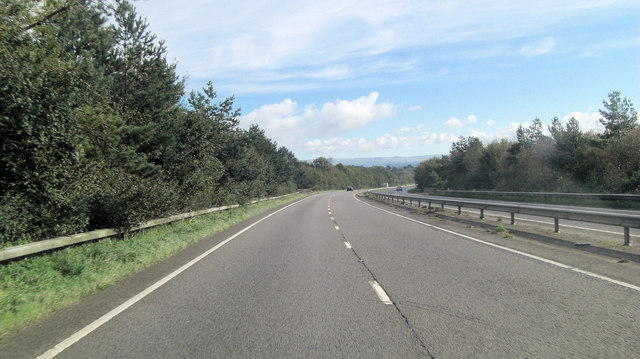 A30 south of Trebursye Oak