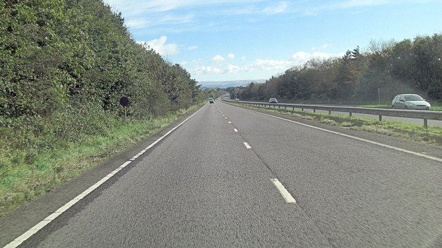 A30 northeast of Trebursye Manor