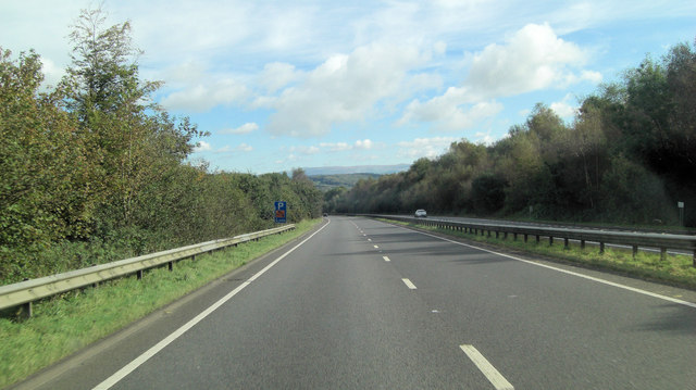 A30 north of Stourscoumbe Farm