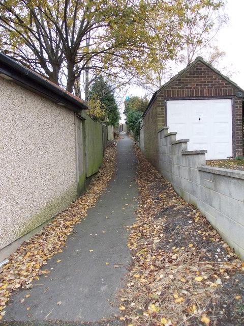 Footpath - St Barnabas Road