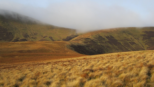 Ridge behind Congrie Hill