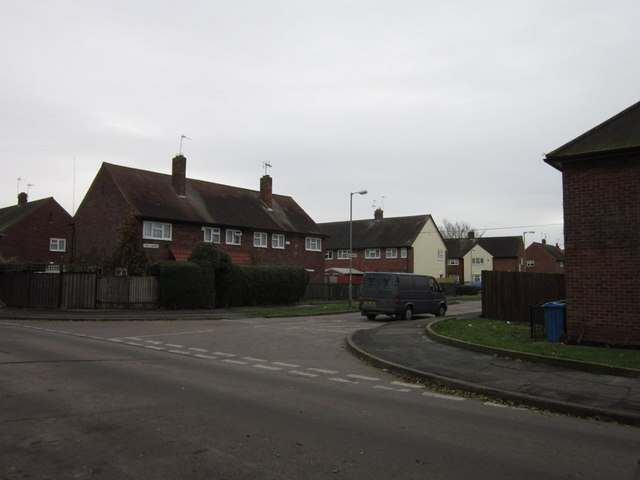 Foss Grove off Brent Avenue, Longhill Estate