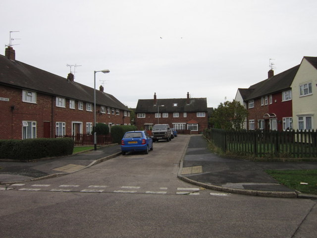 Ebor Close off Foss Grove, Longhill Estate
