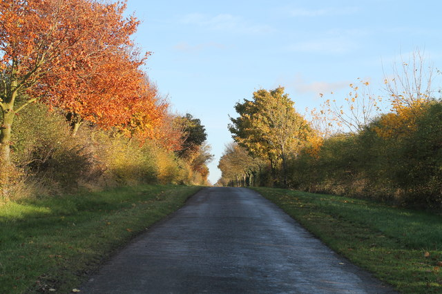 Unnamed Road towards Park Farm
