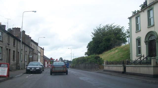 The northern section of Main Street, Lisnaskea