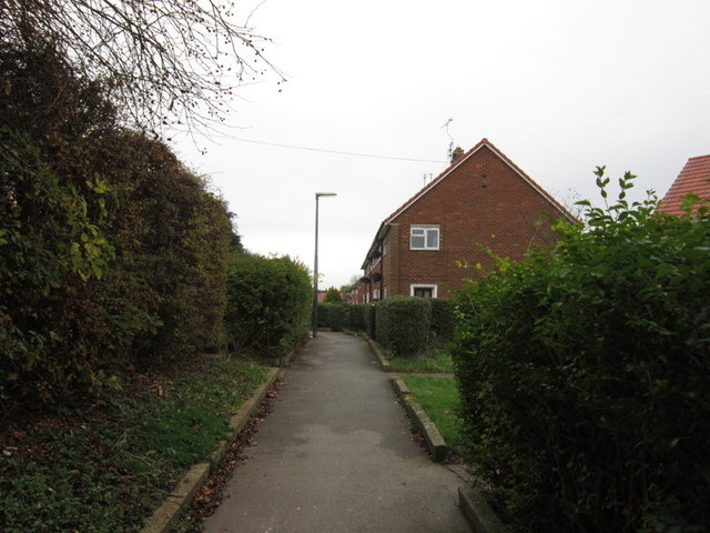 Thaxted Close, Longhill Estate