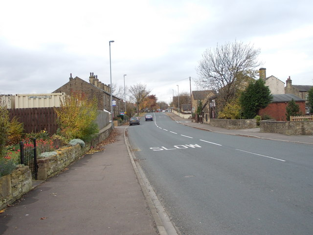 Halifax Road - viewed from Windybank Lane