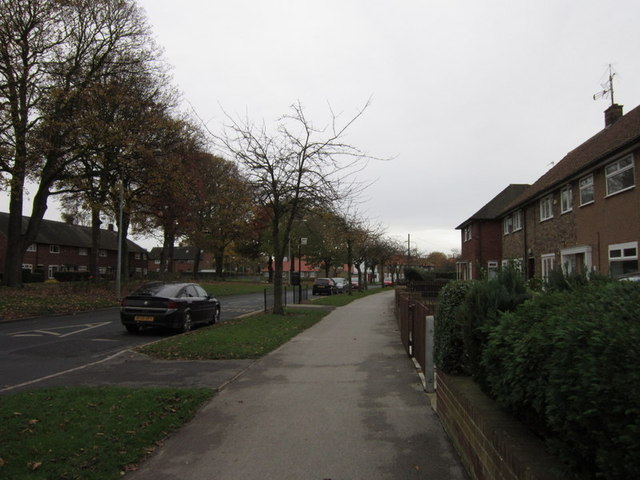 Shannon Road at Hebden Avenue