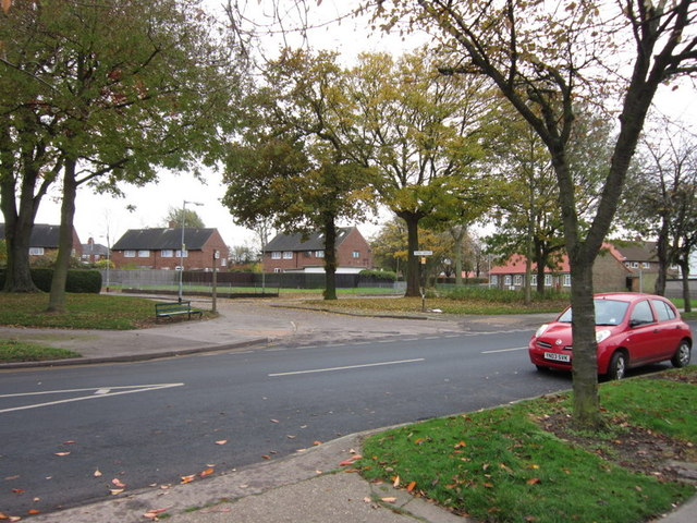 Shannon Road at Tern Grove, Longhill Estate