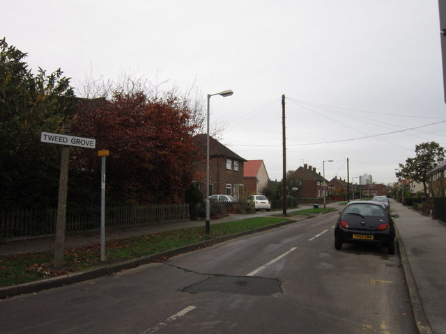 Tweed Grove off Shannon Road, Longhill Estate
