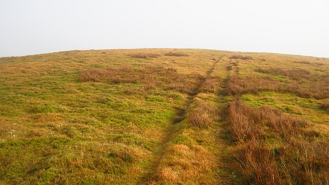 Quadbike track on Culter Fell