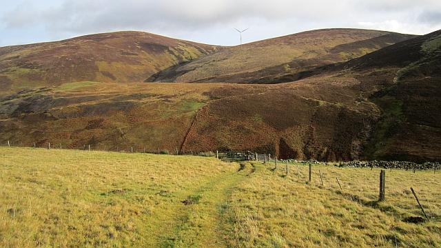 Fields, Leishfoot Hill