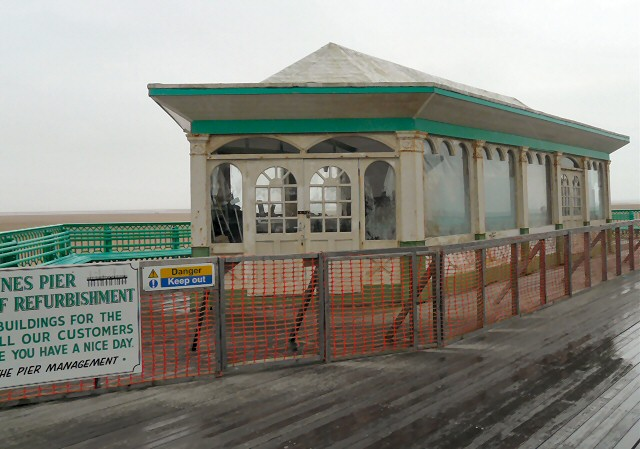 Kiosk refurbishment