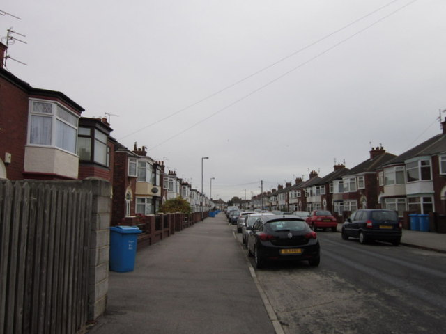 Lodge Street off Holderness Road, Hull