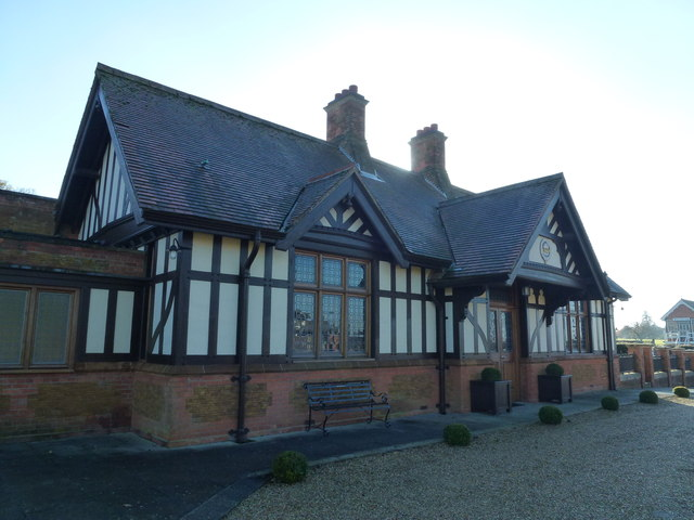 The Royal Station, Wolferton - A view from the garden