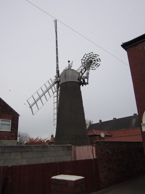The Mill from Lodge Street
