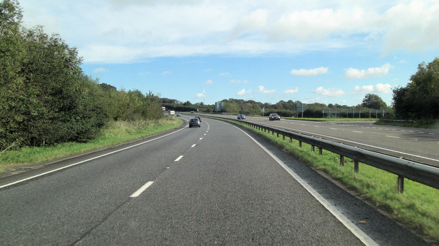 A30 east of Liftondown