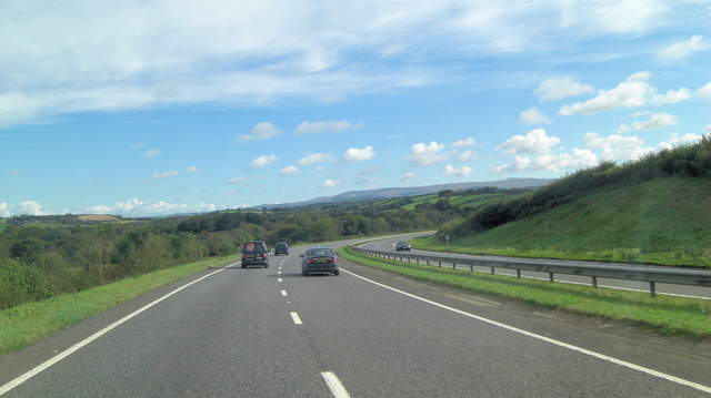 A30 north of Knaphill Plantation