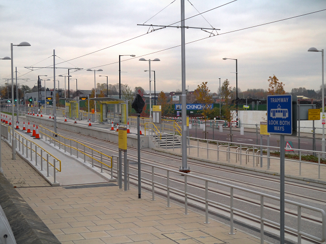 Metrolink Extension, Velopark Station