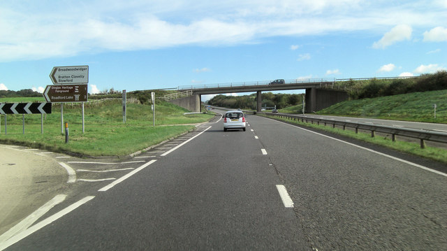A30 interchange northwest of Broadmoorhead