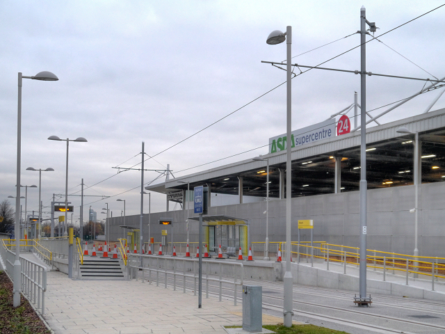 Velopark Metrolink Station