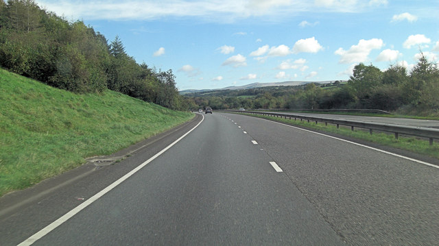 A30 south of Eastlake Wood