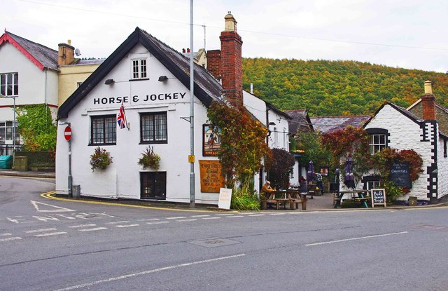 The Horse & Jockey Inn (1), Wylcwm Street, Knighton, Powys