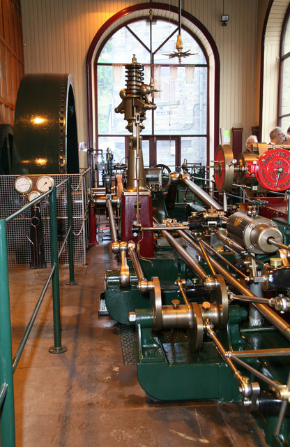 Nortonthorpe Mills, Scissett - steam engine