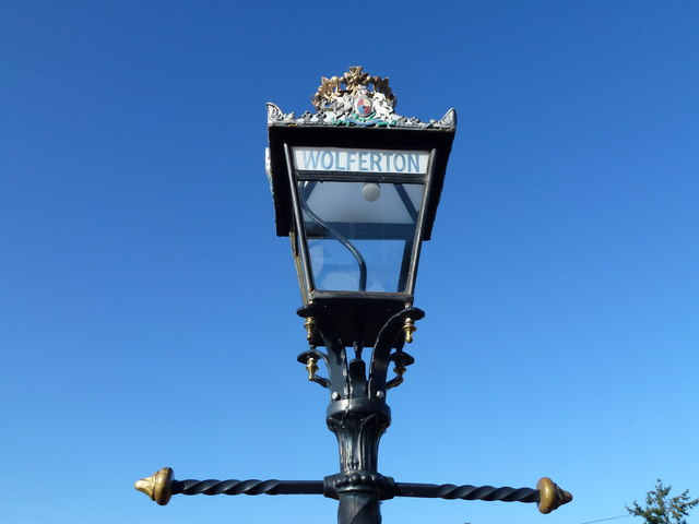 The Royal Station, Wolferton - Platform lamp