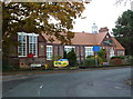 SJ6987 : Community Centre, Oughtrington, Lymm by Anthony O'Neil