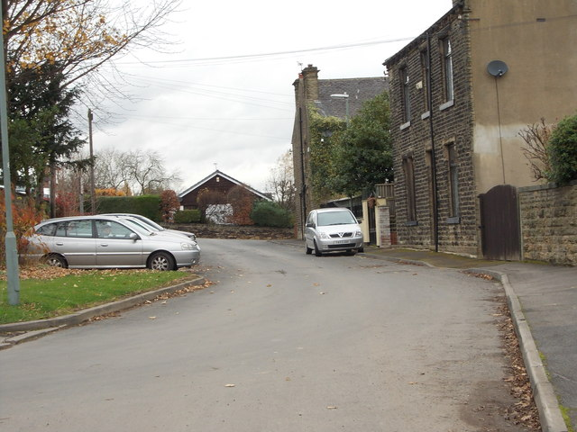 Park Street - looking towards Moorside