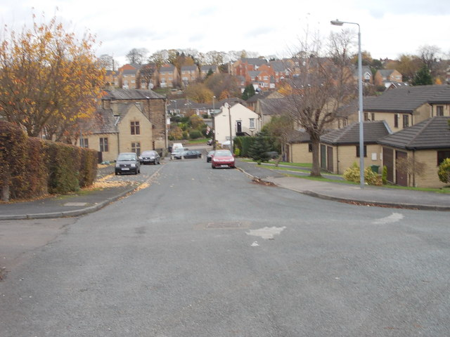 School Street - viewed from Broomfield Terrace