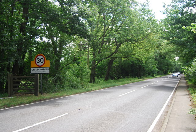 A283 entering Chiddingfold