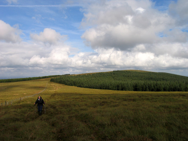 Moorland north of Priesthill Height