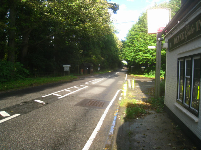 Andover Road / Deane Gate Inn (closed)