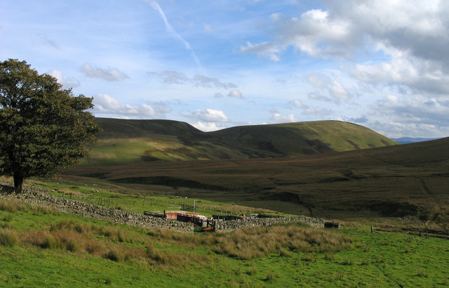 Across valley of Galawhistle Burn