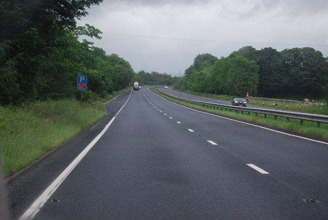 Layby, A590