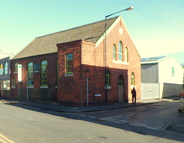 Chauncey's Timber Flooring premises, St Philips, Bristol